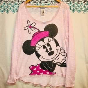 Authentic Disney parks Minnie mouse blouse Sz XL